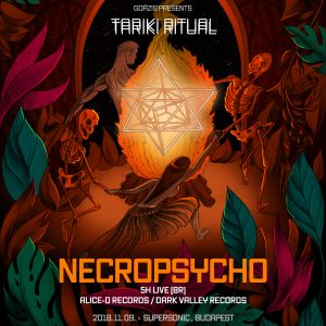 2018-11-09 | Tariki Ritual vol. 2 w/ Necropsycho (BR)