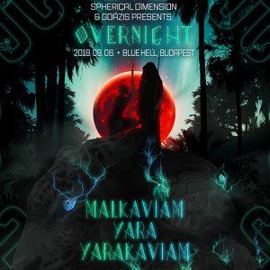 2019-09-06 | Overnight w/ Yarakaviam (VEN)